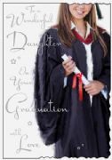 Daughter Graduation Card
